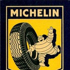 Carteles: CHAPA METALICA REPRO VINTAGE MICHELIN MEDIDAS 30 X 20 CTMS NUEVA PRECINTADA. Lote 177864146