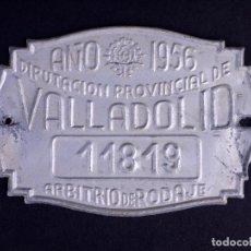 Carteles: TASA DE RODAJE 11819. VALLADOLID 1956. Lote 168608436