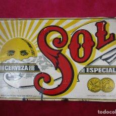 Carteles: CARTEL ORIGINAL VINTAGE CERVEZA ESPECIAL SOL MEXICO MEJICO . Lote 171166798