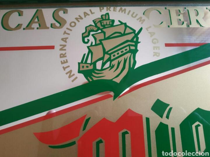 Carteles: Antiguo Espejo cerveza San Miguel - Foto 2 - 171203270