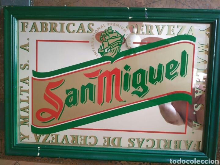Carteles: Antiguo Espejo cerveza San Miguel - Foto 3 - 171203270
