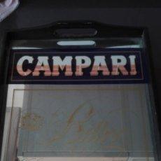 Carteles: BANDEJA PUBLICIDAD CAMPARI. Lote 171458940