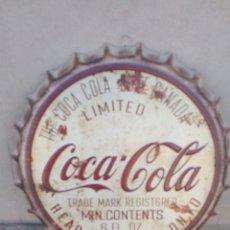 Carteles: CHAPA VINTAGE COCA-COLA. Lote 171474373