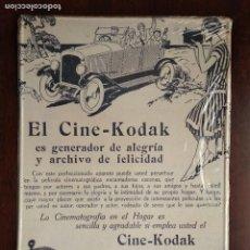 Carteles: CHAPA METALICA PUBLICIDAD DE KODAK FILM , PRECINTADA , PLACA 5 DE LA COLECCION. Lote 172887894
