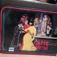 Carteles: BANDEJA CAFFE EXPRESSO. Lote 175144179