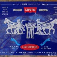 Carteles: CHAPA - CARTEL LEVIS STRAUSS. Lote 175284753
