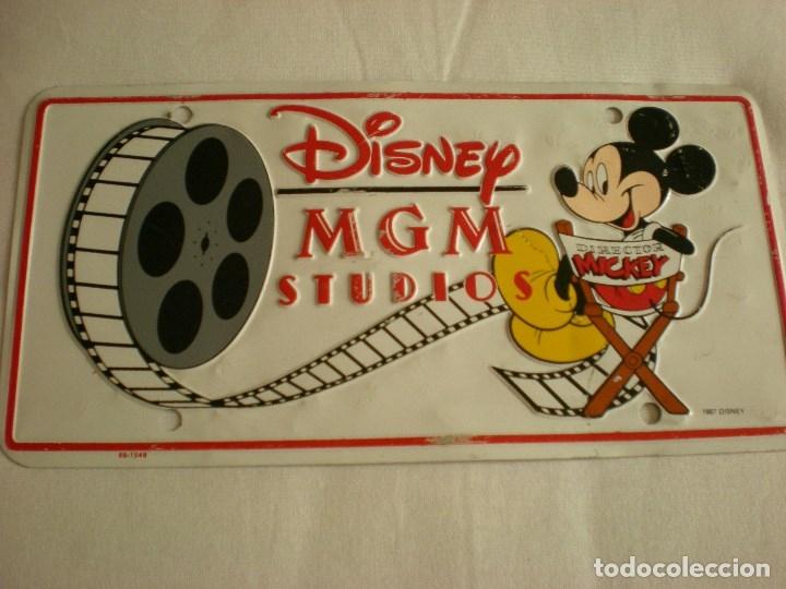 Carteles: Chapa matrícula Disney MGM Studios - Foto 4 - 176925038