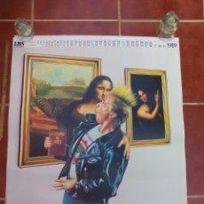 Carteles: HOJA DE ALMANAQUE DE 1989, BESO ARTE POP DE J. P. KUNKEL. MONA LISA. LBS. 68 X 64 CM. CARTEL POSTER.. Lote 177577062