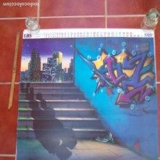 Carteles: HOJA DE ALMANAQUE DE 1989, BESO SOMBRAS ARTE POP LBS. 68 X 64 CM. CARTEL POSTER.. Lote 177577273