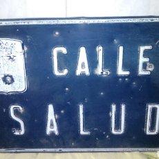 Carteles: ANTIGUA PLACA DE CALLE,50 X 30 CM. Lote 177732298