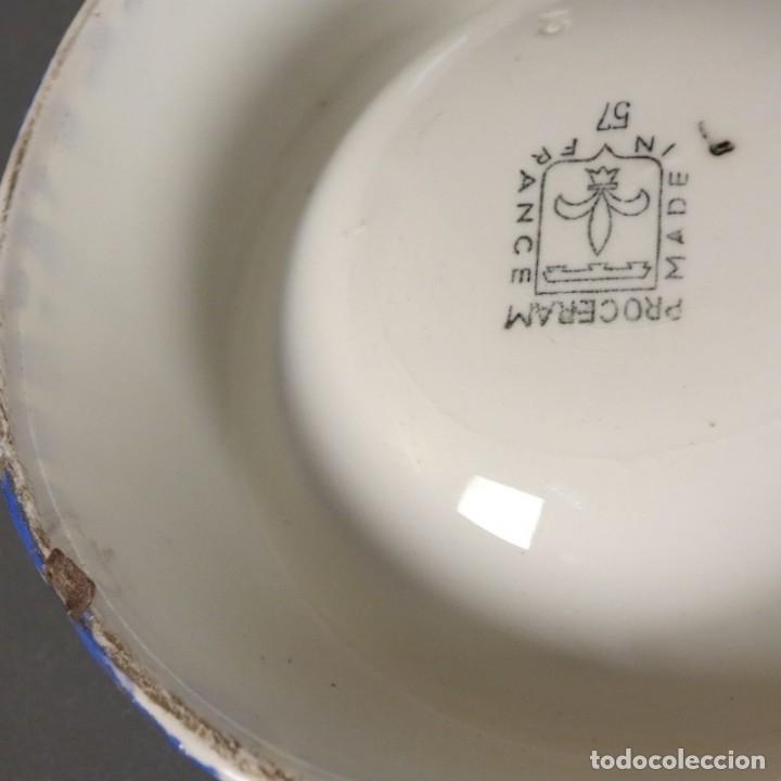 Carteles: Cenicero de publicidad de cermaica de Gitanes. 1950 - 1955. - Foto 3 - 177948147