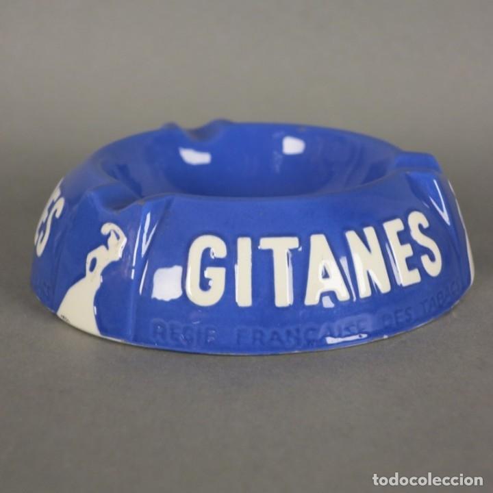Carteles: Cenicero de publicidad de cermaica de Gitanes. 1950 - 1955. - Foto 5 - 177948147