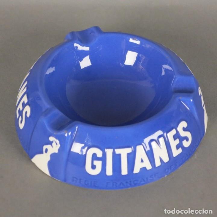 Carteles: Cenicero de publicidad de cermaica de Gitanes. 1950 - 1955. - Foto 6 - 177948147