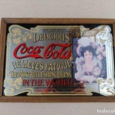 Carteles: ESPEJO PUBLICITARIO LITOGRAFIADO COCA-COLA. Lote 178606890