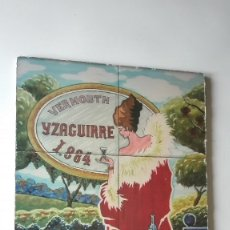 Carteles: CARTEL VERMOUTH YZAGUIRRE. Lote 178970738