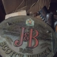 Carteles: ESPEJO CARTEL WHISKY JB.. Lote 179078335