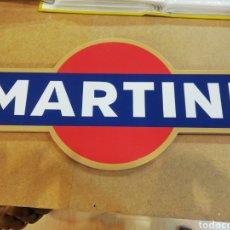 Carteles: CARTEL DE MARTINI DE MADERA. Lote 180031170