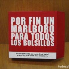 Carteles: ANTIGUO CARTEL PUBLICITARIO DE TABACO MARLBORO BORO. Lote 182095843