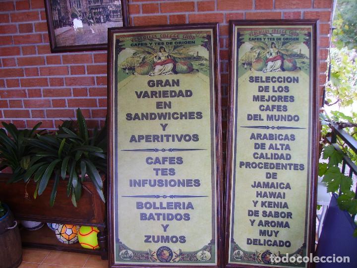 Carteles: Antigua Pareja de Carteles Publicitarios Art Nouveau. Café Colonial. Versalles Coffee Shop - Foto 17 - 184333687