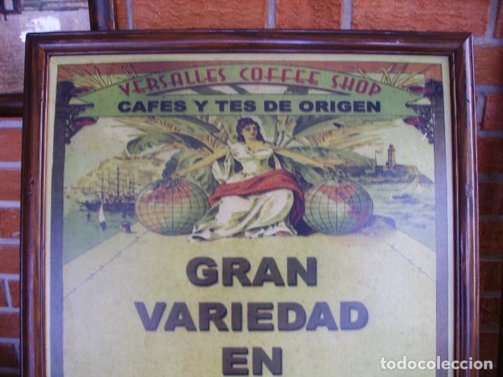 Carteles: Antigua Pareja de Carteles Publicitarios Art Nouveau. Café Colonial. Versalles Coffee Shop - Foto 2 - 184333687
