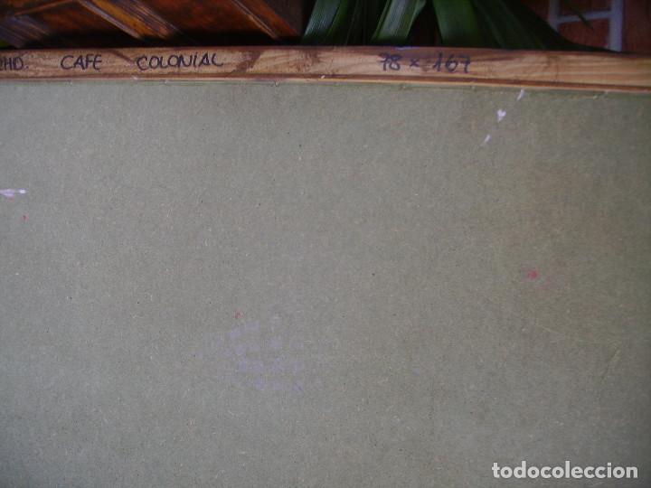 Carteles: Antigua Pareja de Carteles Publicitarios Art Nouveau. Café Colonial. Versalles Coffee Shop - Foto 12 - 184333687
