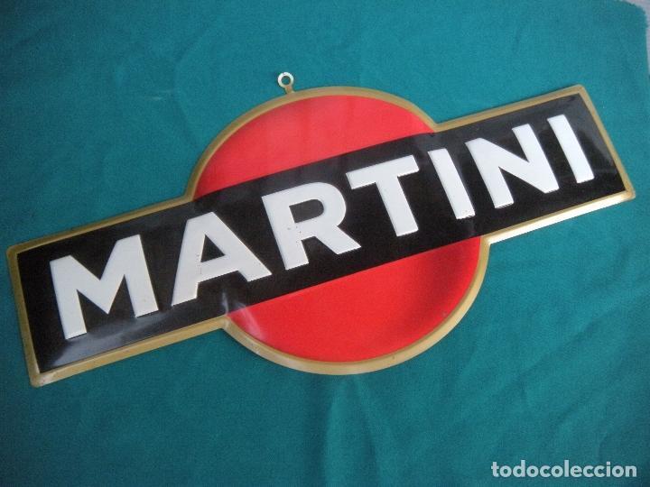 CHAPA DE MARTINI (Coleccionismo - Carteles y Chapas Esmaltadas y Litografiadas)