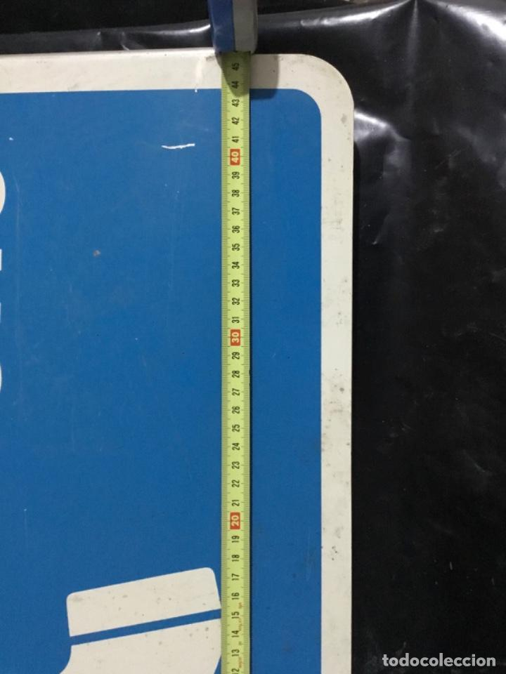 Carteles: Antiguo cartel telefónico esmaltado americano, PHONE, a doble cara - Foto 6 - 189332127