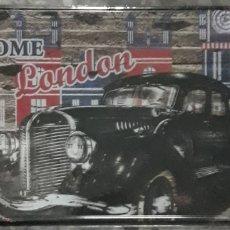 Carteles: CARTEL PLACA DE METAL WELCOME TO LONDON. Lote 189810362