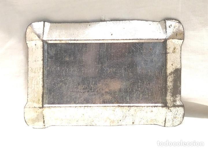 Carteles: Cenicero Chapa Publicidad de Salvador Rull. Fulgor Bcn. Med 13 x 9 cm - Foto 2 - 190138068