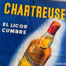 Carteles: CARTEL ORIGINAL CHARTREUSE TARRAGONA SEIX & BARRAL. Lote 190863411