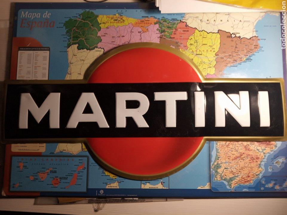 CARTEL CHAPA MARTINI (Coleccionismo - Carteles y Chapas Esmaltadas y Litografiadas)