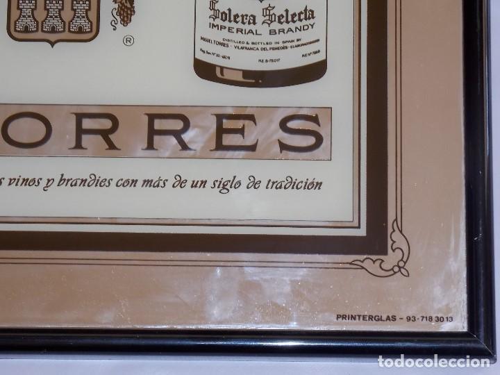 Carteles: ESPEJO PUBLICIDAD VINTAGE BRANDY TORRES AÑOS 80 - Foto 3 - 192056188