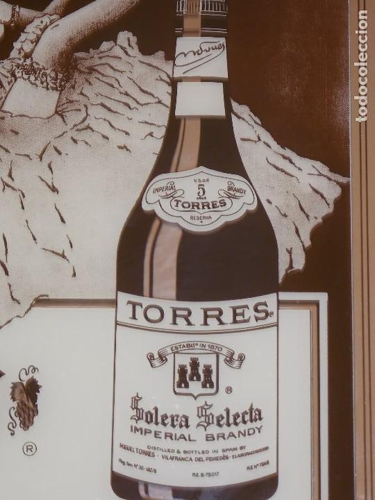 Carteles: ESPEJO PUBLICIDAD VINTAGE BRANDY TORRES AÑOS 80 - Foto 4 - 192056188