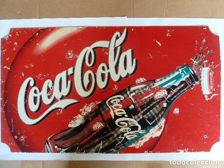 Coca Cola Antiguo Cartel De Chapa Publicitario Buy Old Posters Enameled And Lithographed Plates And Mirrors At Todocoleccion 192105001