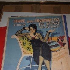 Carteles: CARTEL METALICO SMOKING 42 X 30. Lote 192173408