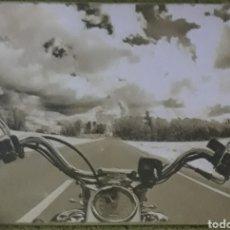 Carteles: CARTEL DE METAL HARLEY DAVIDSON. Lote 192917098