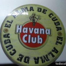 Carteles: CHAPA HAVANA CLUB, ESPECIAL COLECCIONISTAS. Lote 193110092