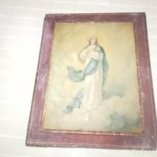 Carteles: PRECIOSA Y MUY RARA CHAPA DE PUBLICIDAD LA PAJARITA ALBACETE ENMARCADA MIREN FOTOS . Lote 193313661