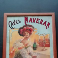 Carteles: CARTEL CAVES NAVERAN. Lote 194275790