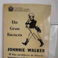 Carteles: CHAPA DE PUBLICIDAD. JOHNNIE WALKER. Lote 194288371