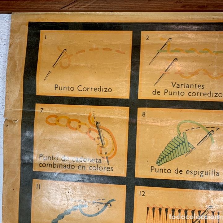 Carteles: Antiguo y grande cartel publicitario Ancora Elefante - Hilaturas Fabra y Coats - tipos de punto - Foto 5 - 194527638