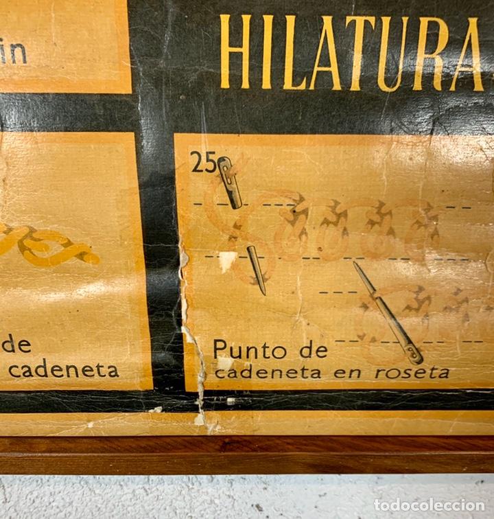 Carteles: Antiguo y grande cartel publicitario Ancora Elefante - Hilaturas Fabra y Coats - tipos de punto - Foto 6 - 194527638