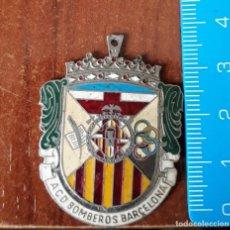 Carteles: MEDALLA BOMBEROS DE BARCELONA. Lote 194590376