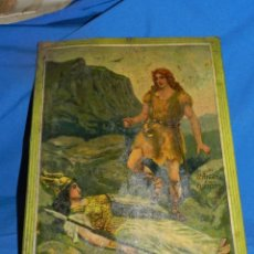 Carteles: (M) CHAPA LITOGRAFIADA EL DR ANDREU A SUS CLIENTES , ILUSTRADO F SANS CASTUÑO. Lote 194766198