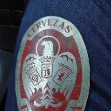 Carteles: CHAPA ANTIGUA PUBLICIDAD EL AGUILA 10 CM APROX.. Lote 194867472