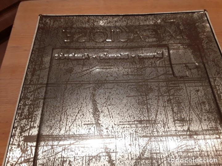 Carteles: Cartel metalico Cerveza La Gauloise, Belgica, original, relieve, 65x50. - Foto 6 - 195028168