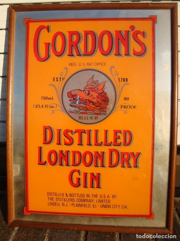 GORDONS (Coleccionismo - Carteles y Chapas Esmaltadas y Litografiadas)