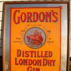 Carteles: GORDONS. Lote 195308182