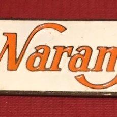 Carteles: PUBLICIDAD; BEBIDA. PLACA ESMALTADA DE REFRESCO TRINARANJUS.. Lote 195332200