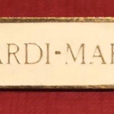 Carteles: PUBLICIDAD; BEBIDA. PLACA ESMALTADA DE BACARDI-MARTINI.. Lote 195332481